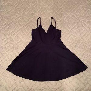 Dark blue dress. Worn once.